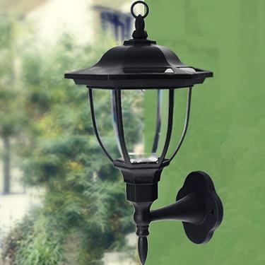 Zonne-energie Decoratieve wandlamp