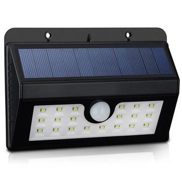 Zonne-energie Motion Sensor Wandlamp