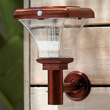 Zonne-energie PIR bewegingssensor wandlamp