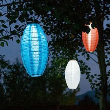 Zonne-energie Chinese lantaarn