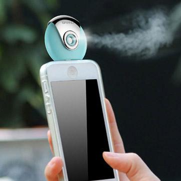 Luchtbevochtiger voor mobiele telefoon