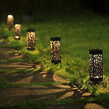 Zonne-energie LED-tuinlamp