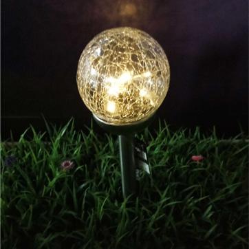 solarglas ball string light